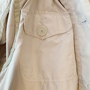 Kenneth Cole Reaction Jackets & Coats - Kenneth Cole Reaction Womens XL Short Trench Coat